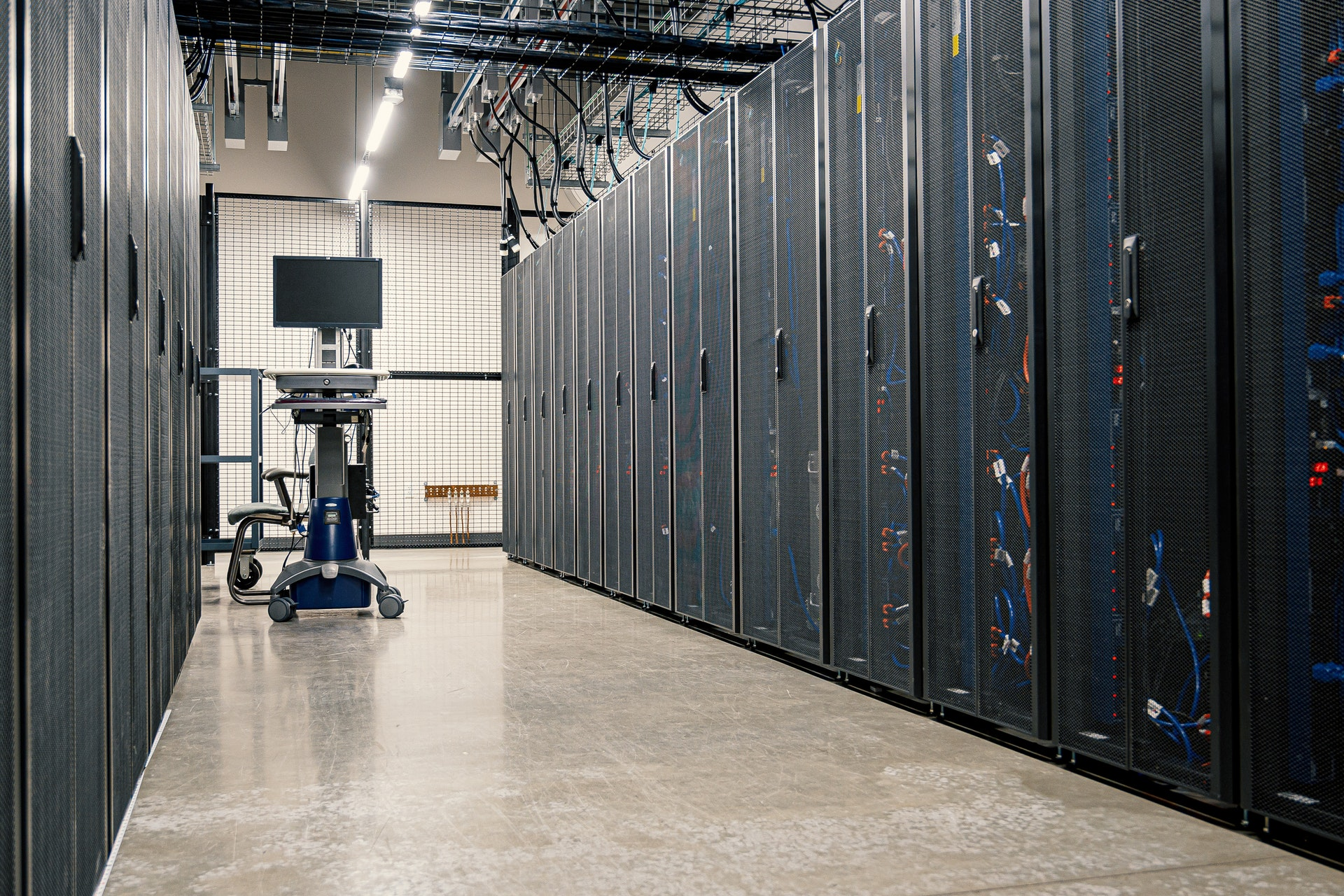 Datacenter in USA of Dainty Cloud